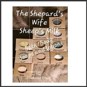 The Shepard's Wife Sheep's Milk Soap